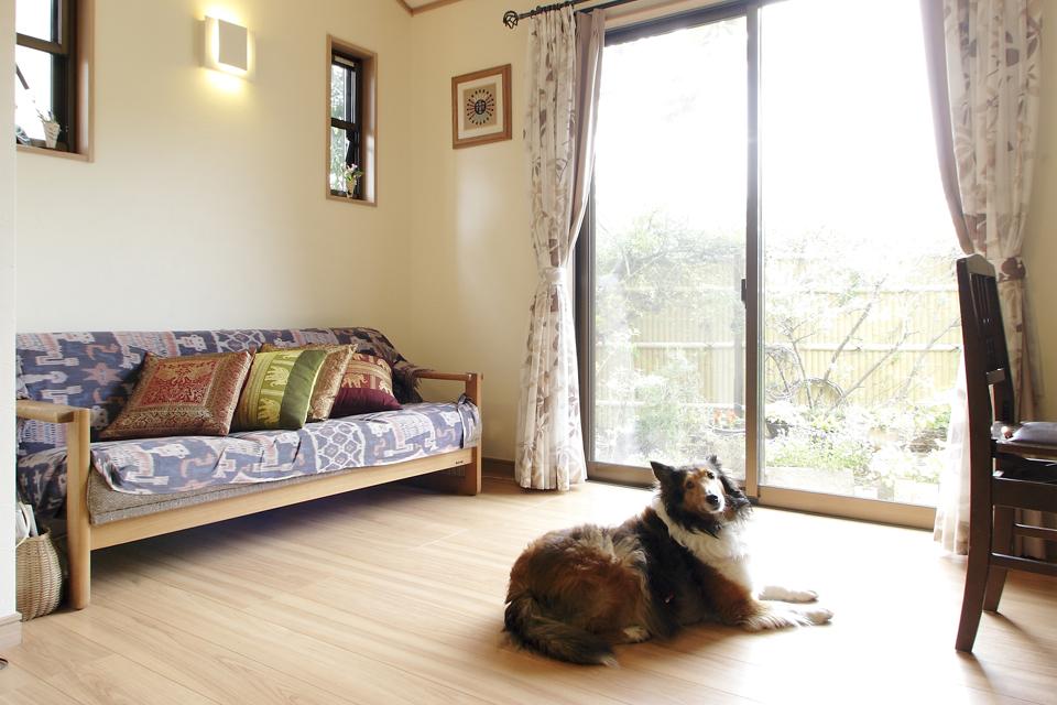 愛犬と家族が快適に暮らすための増改築。
