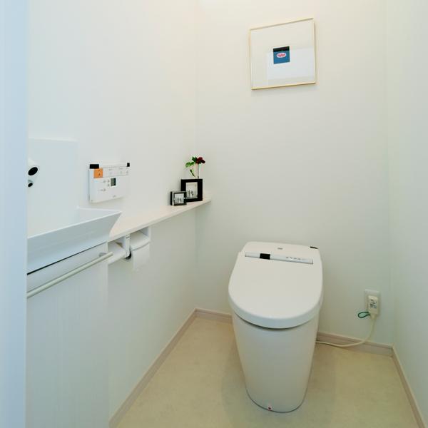 トイレ リフォーム後 01