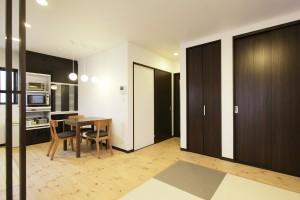 リフォーム事例紹介:生活スタイルを重視した二世帯住宅。
