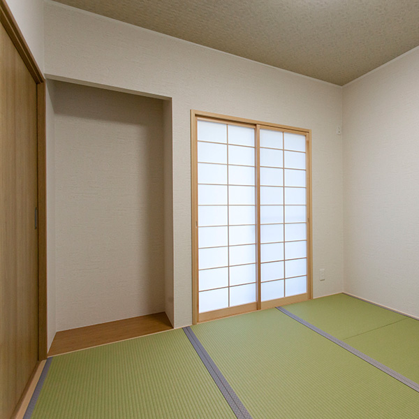 玄関スペースを和室に リフォーム後
