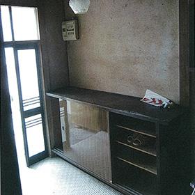玄関スペースを和室に リフォーム前