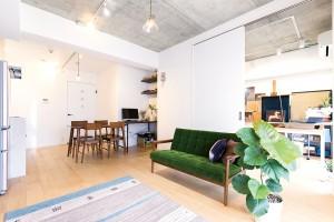 リフォーム事例紹介:明るいアトリエのあるマンションにリフォーム