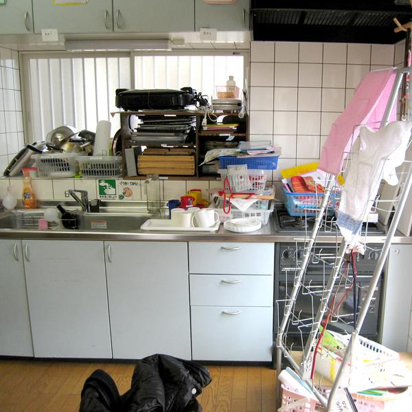厨房 リフォーム前