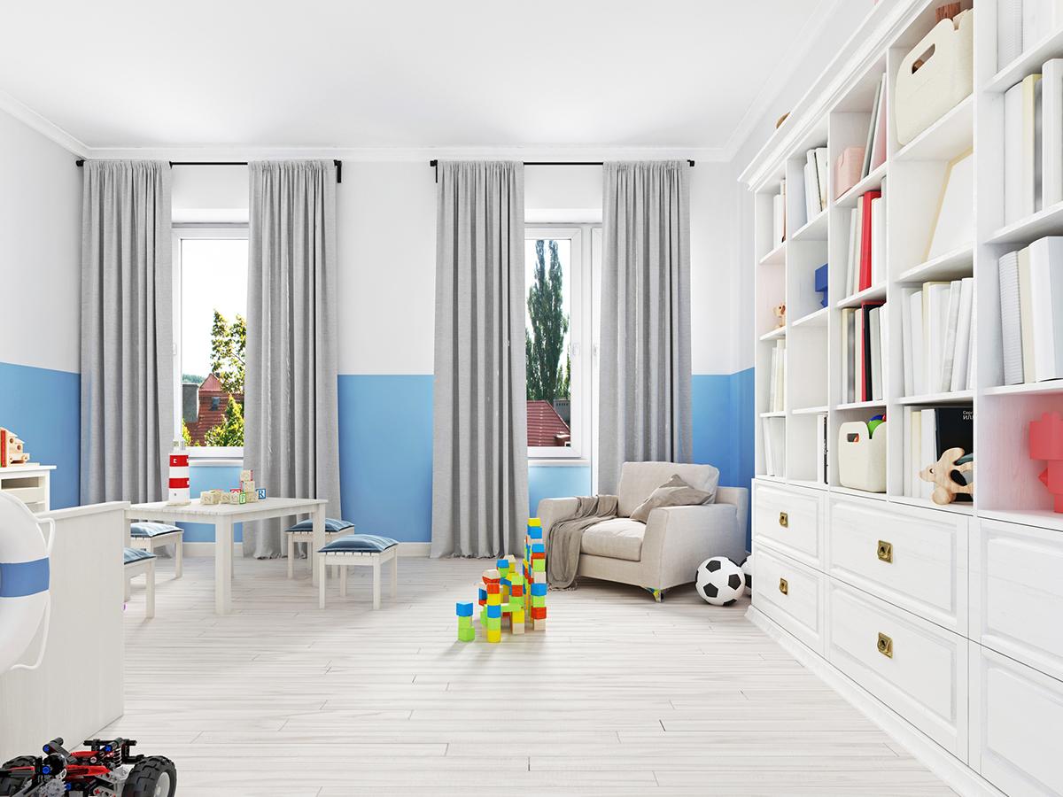 【狭くても快適に】子供のことを考えた子供部屋の仕切り方-2