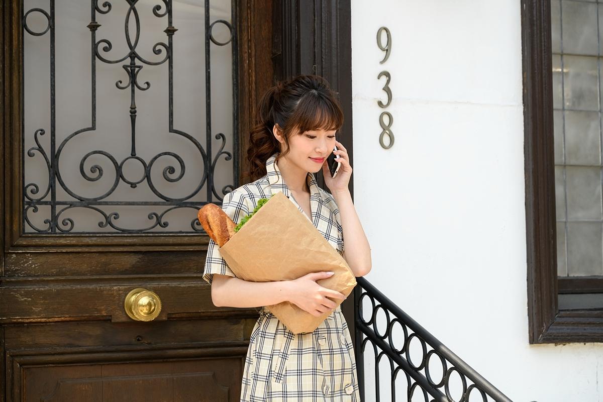 おしゃれな玄関でお出迎え!玄関を彩るこだわりのドア-2